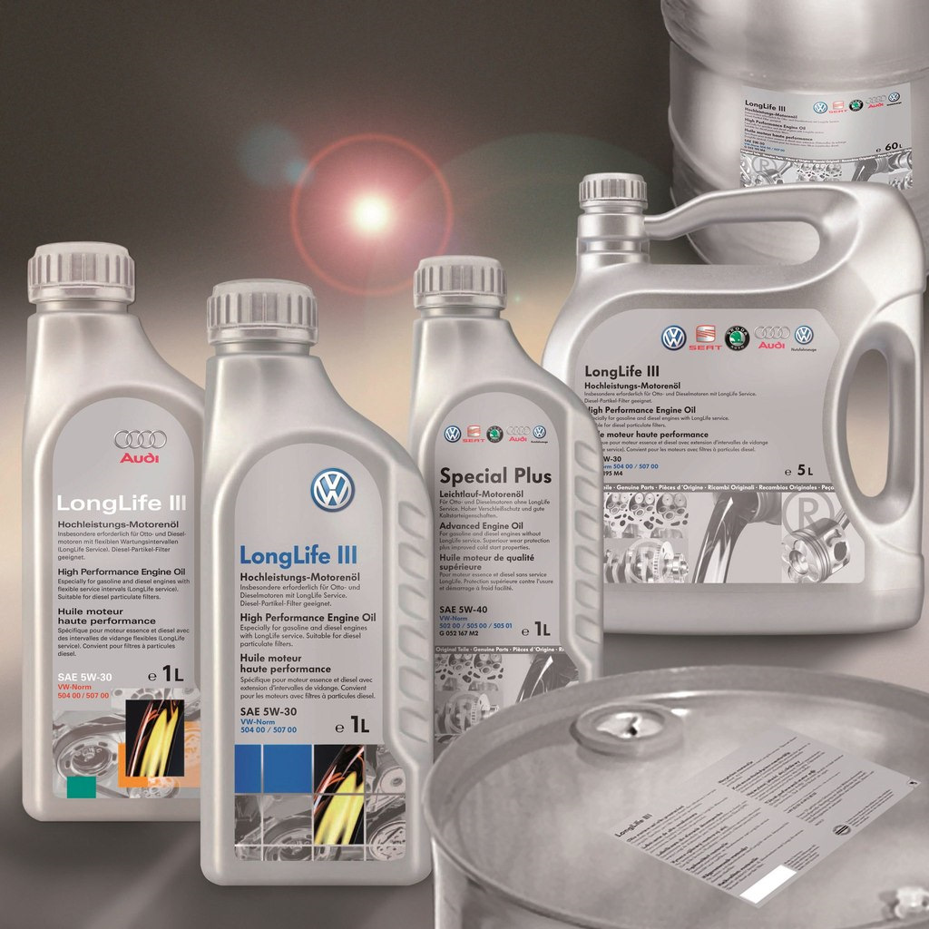Замена масла Special Plus (G 052167M…) на масла Special G (G 052502M…) и Special D (G 052505M…)