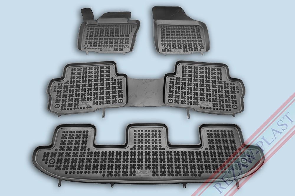 Ковры для  VW Sharan II from 2010, 5 seats/ 7 seats