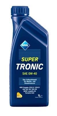 Моторное масло Aral Super Tronic SAE 0W-40 1л