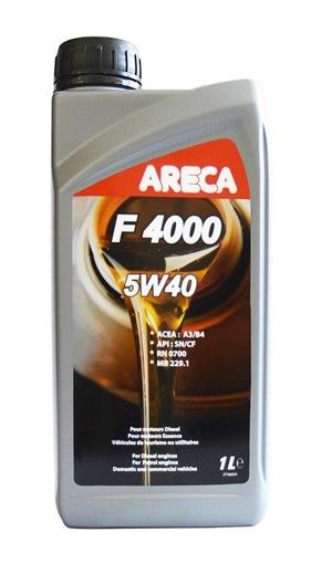 Моторное масло Areca F4000 5W-40 1л