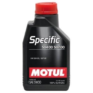 Моторное масло Motul Specific 504.00/507.00 5W-30 1л