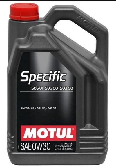 Моторное масло Motul Specific 504.00/507.00 5W-30 5л