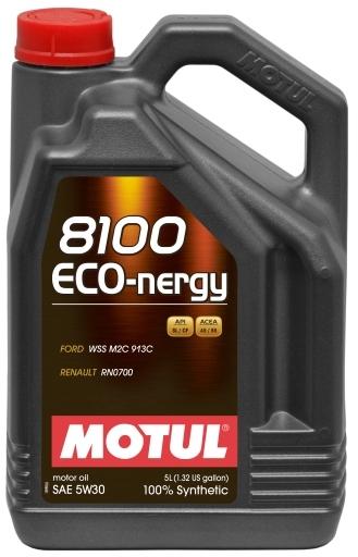 Моторное масло Motul 8100 Eco-nergy 0W-30 5л