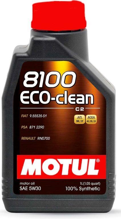 Моторное масло Motul 8100 Eco-clean C2 5W-30 1л