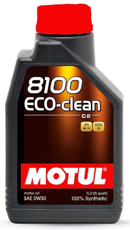 Моторное масло Motul 8100 Eco-clean 0W-30 1л
