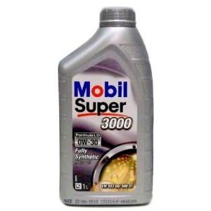Моторное масло Mobil Super 3000 Formula LD 0W-30 1л
