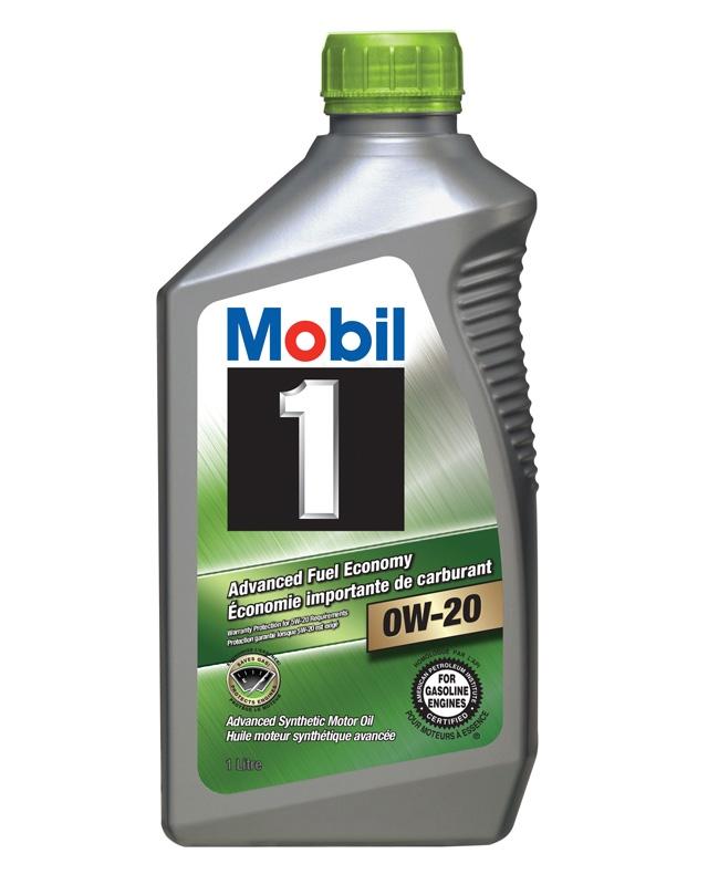 Моторное масло Mobil 1 Advanced FE 0W-20 1л