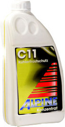 Антифриз Alpine G11 gelb (желтый) 1.5л