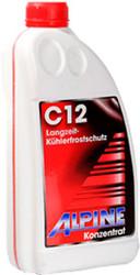 Антифриз Alpine G12 rot (красный) 1.5л