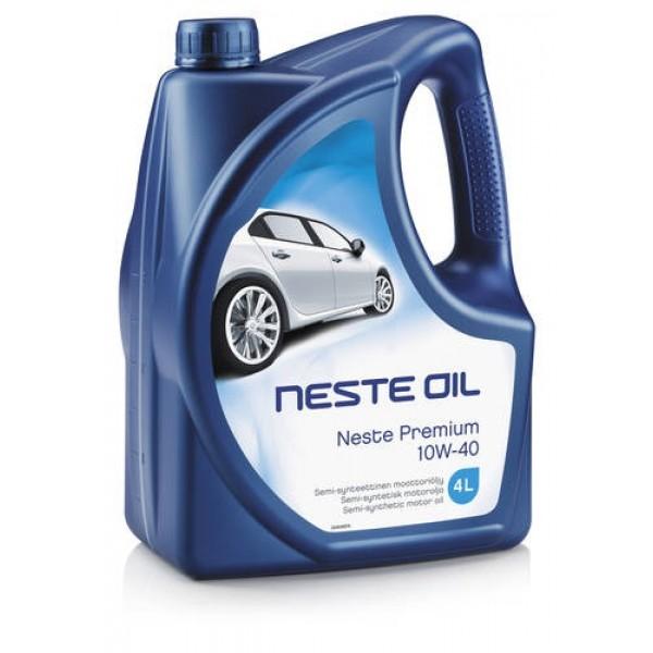 Моторное масло Neste Premium 10W-40 4л