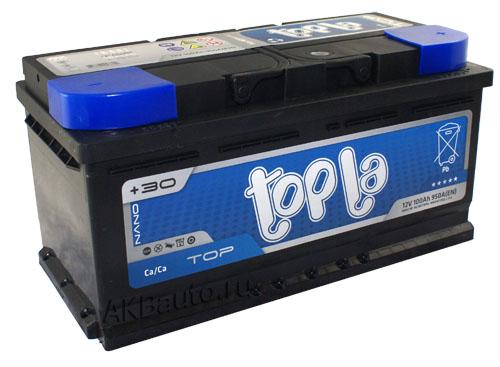 Аккумулятор Topla Top  R+ 100 А/ч