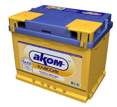Аккумулятор Аком 6СТ-100 Евро (100 А/ч)
