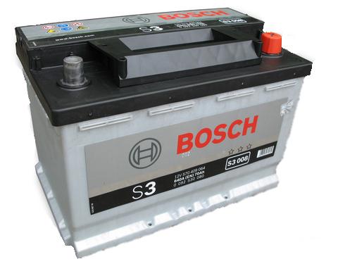 Аккумулятор Bosch S3 013 590 122 072 (90 А/ч)