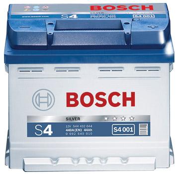 Аккумулятор Bosch S4 020 545 155 033 (45 А/ч) тонк. клемы