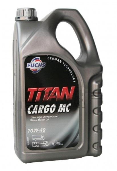 Моторное масло Fuchs Titan Cargo MC 10W-40 5л