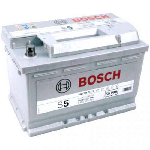 Аккумулятор Bosch S5 001 552 401 052 (52 А/ч)
