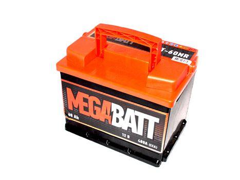 Аккумулятор Mega Batt 6СТ-60АзЕ (60Ah)