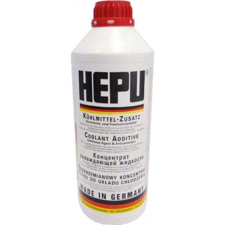 Антифриз Hepu P999 G12 красный 1.5л