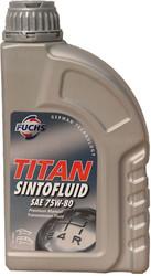 Трансмиссионное масло Fuchs Titan Sintofluid 75W-80 1л