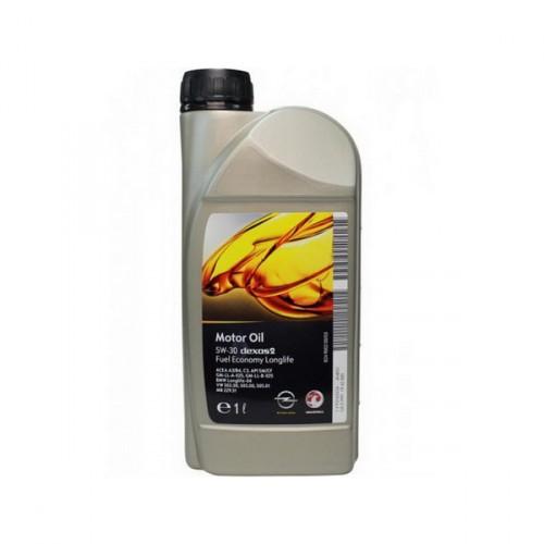 Моторное масло GM Longlife Dexos 2 5W-30 1л (RU)