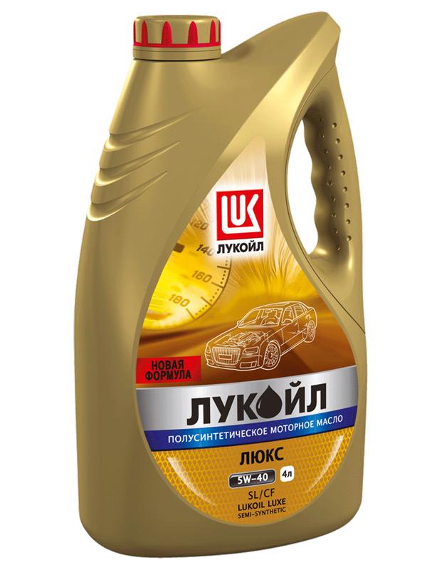 Моторное масло Лукойл Люкс 5W-40 4л