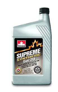 Моторное масло Petro-Canada Supreme Synthetic 5w-20 1л