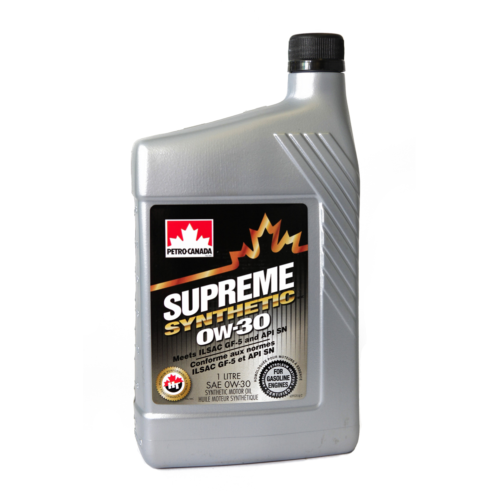 Моторное масло Petro-Canada Supreme Synthetic 0W-30 1л