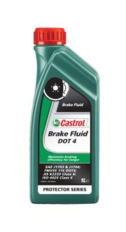 Жидкость тормозная Castrol DOT 4 1л