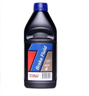 Жидкость тормозная TRW Brake Fluid DOT4 1л