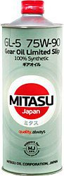 Трансмиссионное масло Mitasu MJ-411 GEAR OIL GL-5 75W-90 LSD 100% Synthetic 1л