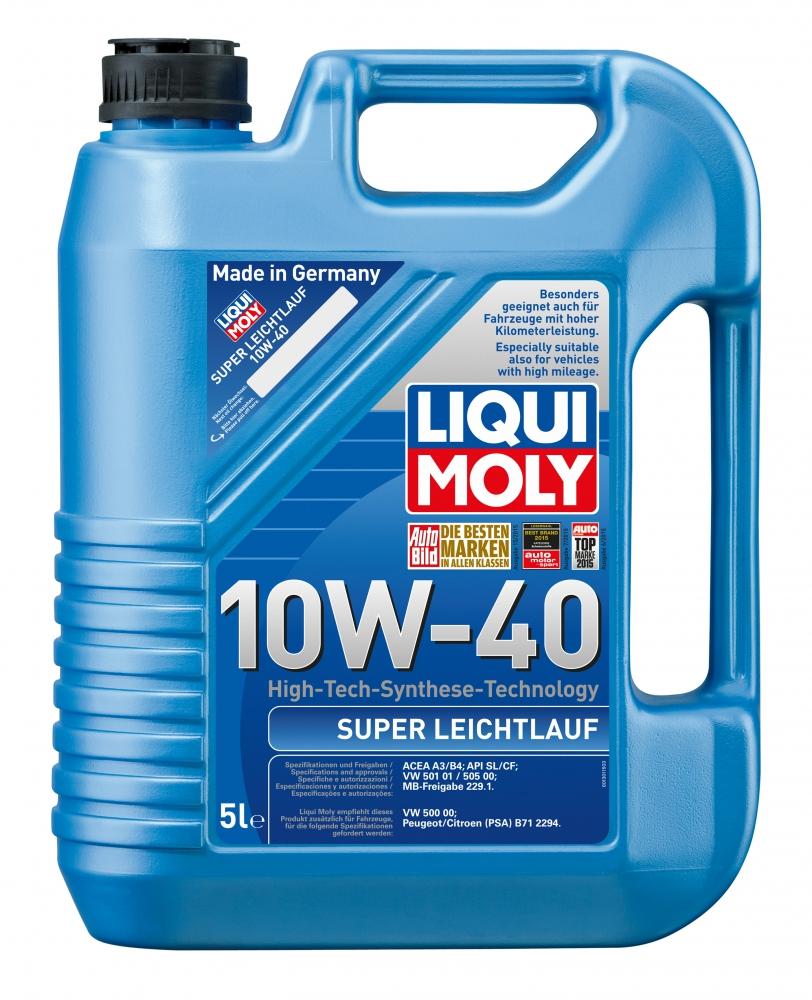 Моторное масло Liqui Moly Super Leichtlаuf 10W-40 5л