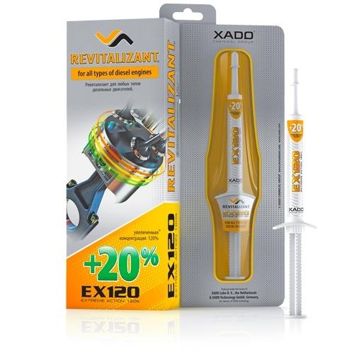 Ревитализант Xado Revitalizant EX120 для дизельных двигателей 8мл
