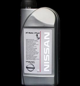 Трансмиссионное масло NISSAN ATF Matic J Fluid 1л