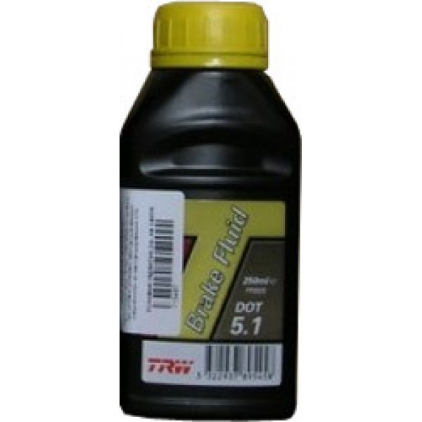 Жидкость тормозная TRW BRAKE FLUID DOT5.1 0.5Л