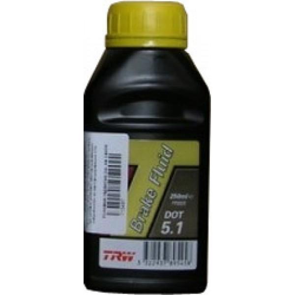 Жидкость тормозная TRW BRAKE FLUID DOT5.1 1Л