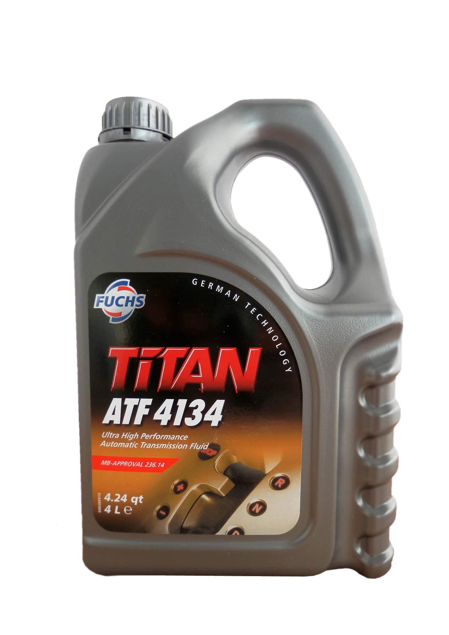 Трансмиссионное масло Fuchs Titan ATF 4134 4л