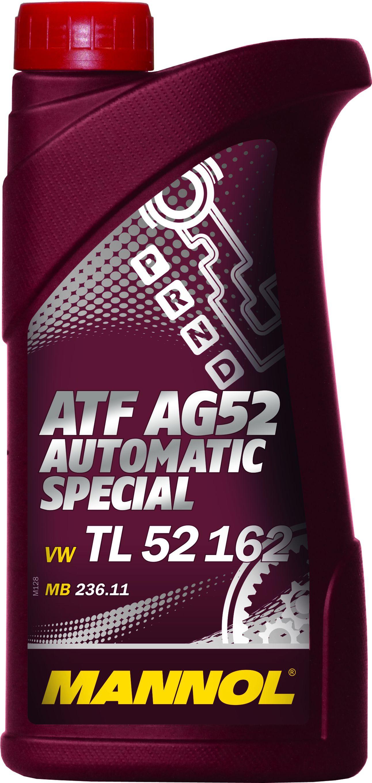 Трансмиссионное масло MANNOL ATF AG52 Automatic Special 1л