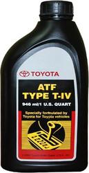 Трансмиссионное масло Toyota ATF Type T-IV (00279000T4) 0.946л