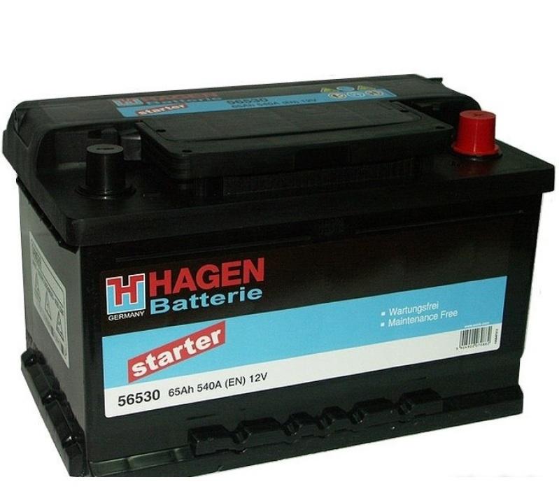 Аккумулятор Hagen 56530 (65Ah)