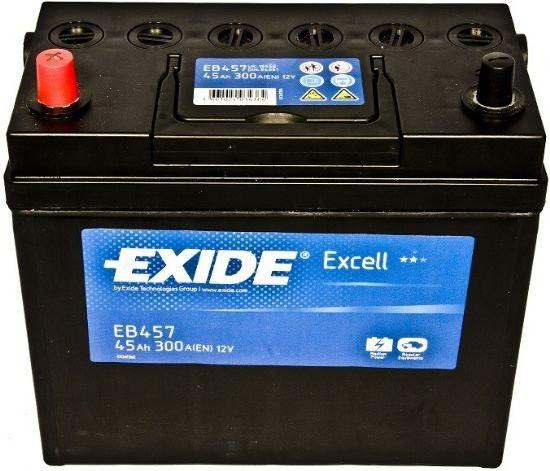 Аккумулятор Exide Excell EB457 (45Ah)