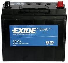Аккумулятор Exide Excell EB454 (45Ah)