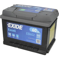 Аккумулятор Exide Excell EB602 (60Ah)