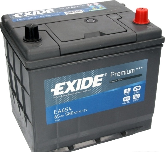 Аккумулятор Exide Premium EA654 (65Ah)