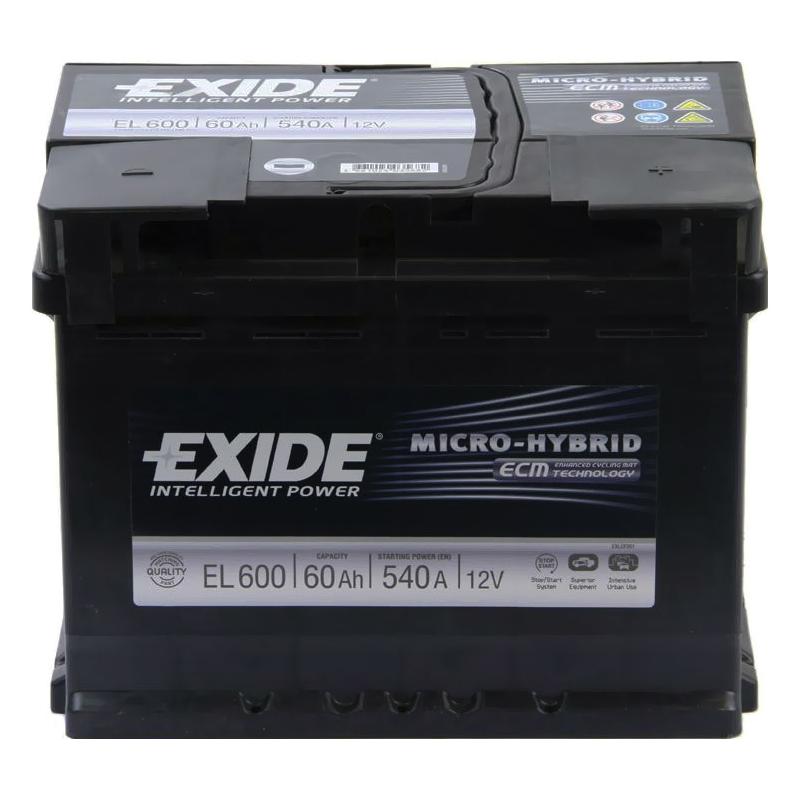 Аккумулятор Exide Micro-Hybrid AGM EK700 (70Ah)