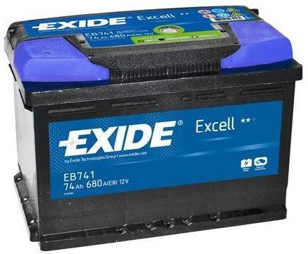 Аккумулятор Exide Excell EB741 (74Ah)