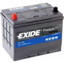 Аккумулятор Exide Premium EA755 (75Ah)