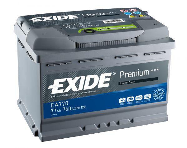 Аккумулятор Exide Premium EA770 (77Ah)