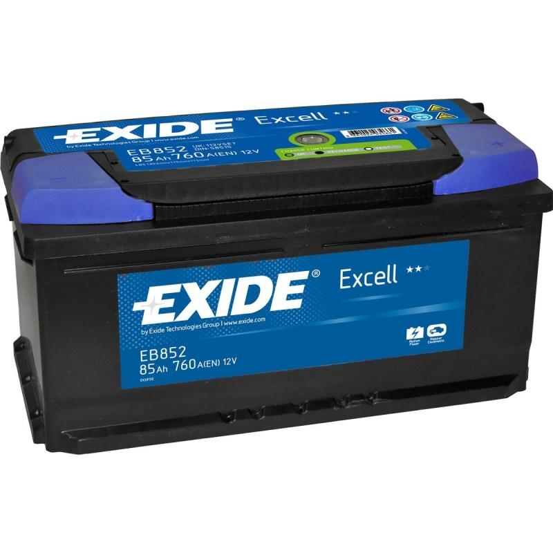 Аккумулятор Exide Excell EB852 (85Ah)