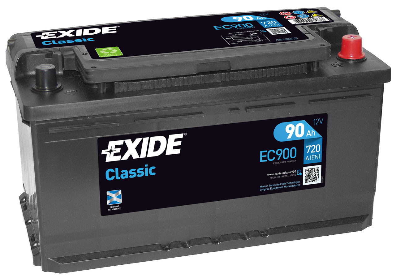 Аккумулятор Exide Classic EC900 (90Ah)