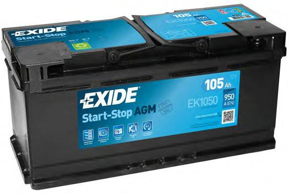 Аккумулятор Exide Micro-Hybrid AGM EK1050 (105Ah)